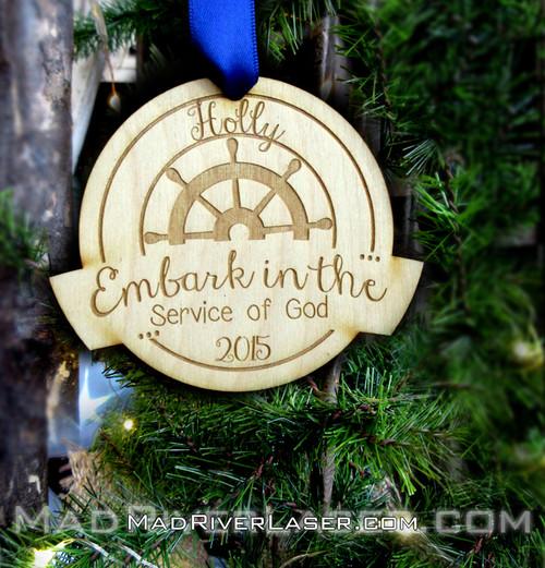 Embark Ornament