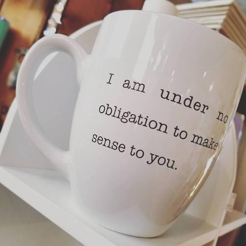 16 oz  Bistro Mug