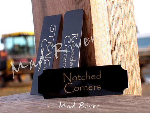 """Custom Sized Laser Engraved Name Plate up to 4"""" x 10"""""""