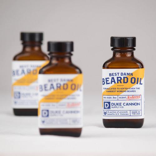 Duke Cannon Beard Oil