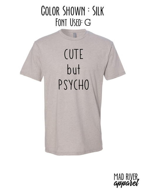 CUTE BUT PSYCHO DTG