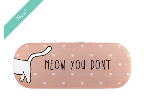 Meow you see me Glasses Case
