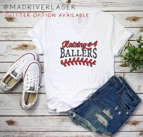 Ballers V Neck - Bella+ Canvas