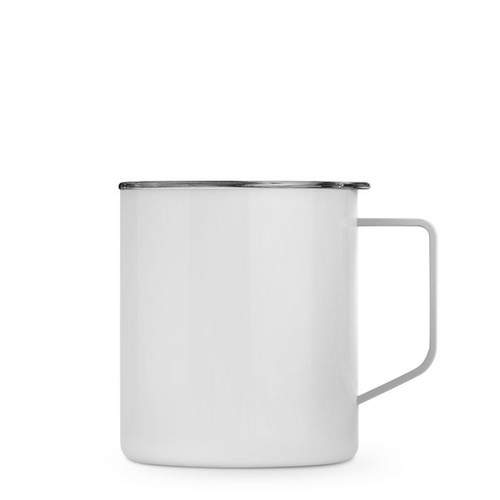 14 oz  Camp Mug  - Double Wall Stainless Steel