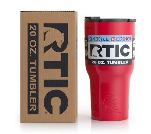 20 Oz RTIC tumbler - Double Wall Stainless
