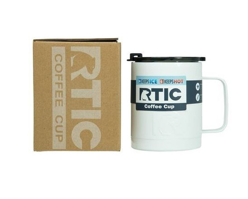 12 oz  RTIC Coffee Cup - Double Wall Stainless