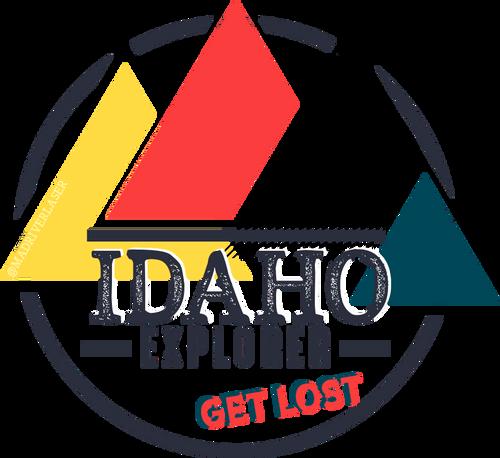 Idaho Explorer Round Decal - Get Lost