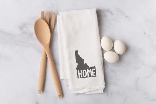 Idaho Home Flour Sack Dish Towel