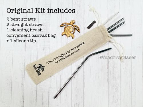 The Original Eco Straw Kit