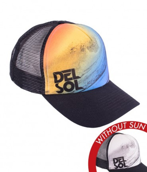 Del Sol Wave Trucker Hat