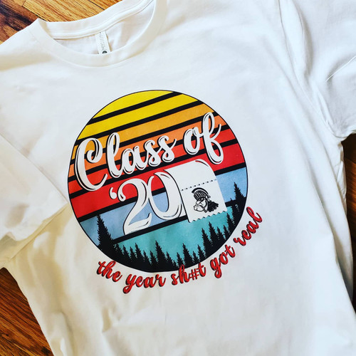 RETRO Class of 2020 TP shirt