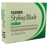 Feather WIDE STYLING BLADES 10pk (FT-STYW)