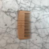 Janeke Beech Wood Wide Tooth Comb (JK-LG362)