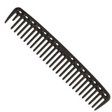 YS Park 452 Big Round Tooth Cutting Comb Carbon Black