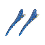 YS Park Shark Clips - 2 Pack - Dark Blue