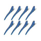 YS Park Shark Clips - 8 Pack - Dark Blue