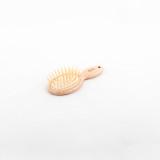 Janeke Beech Wood Mini Hairbrush