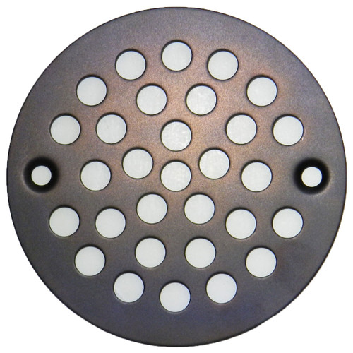 "4"" Oil Rubbed Bronze Finish Stamped Strainer (SP1SORB-080434003860)"