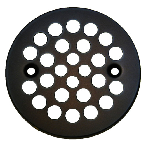 "4-1/4"" Oil Rubbed Bronze Stamped Strainer (SP12SORB-080434006175)"