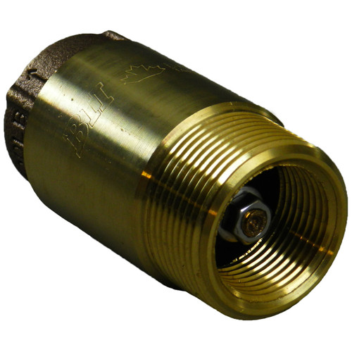 Brass Check Valve MPT x FPT - Lead Free