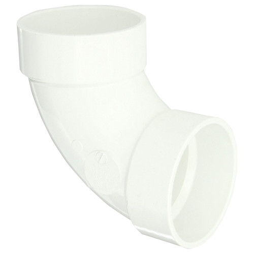 PVC DWV 90 Degree Elbow