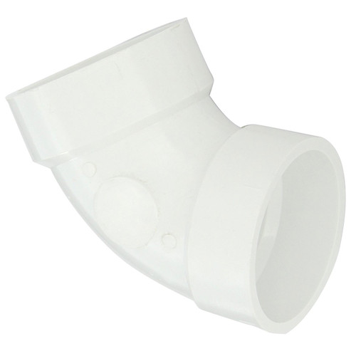 PVC DWV 60 Degree Elbow