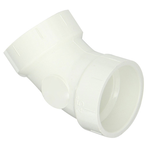 PVC DWV 45 Degree Elbow