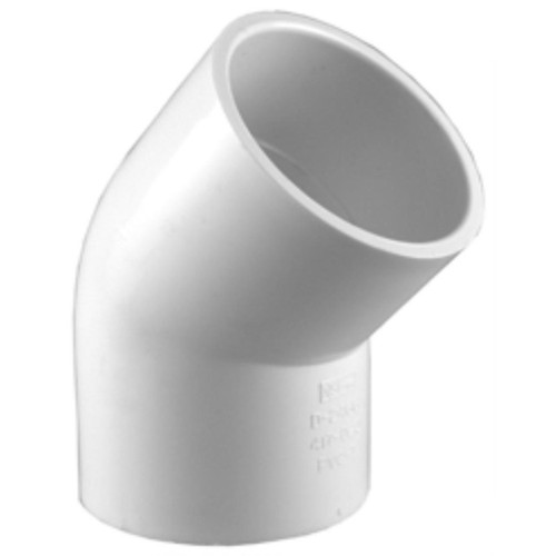 PVC Sch40 45 Degree Elbow