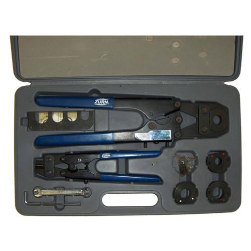 Multi-Head Copper Crimp Tool for PEX Connections