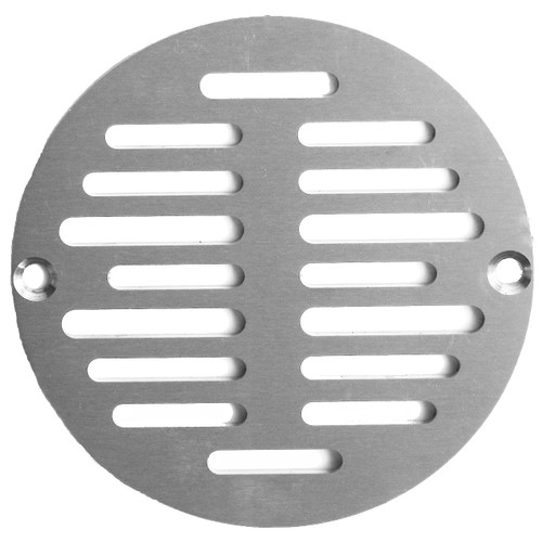 "5"" Nickel Finish Cast Strainer (SP4N-080434409983)"