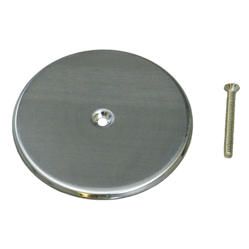 """Cleanout Cover Plate - Stainless Steel - 5"""""""