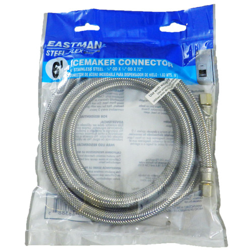 Supply Line for Ice Maker - Stainless Steel - SALE 16% Off