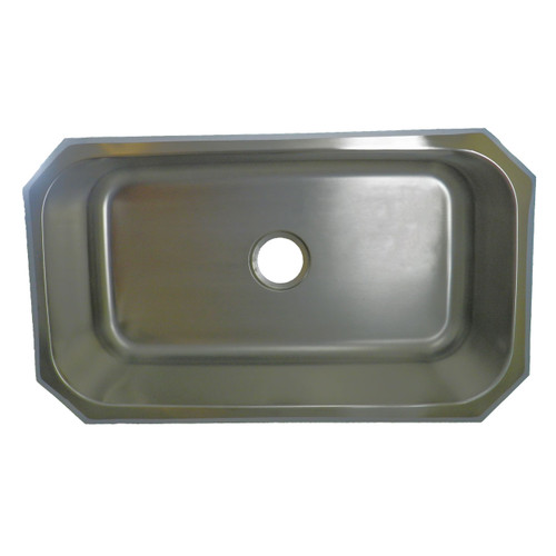 Undermount Sink Stainless Steel Single Bowl