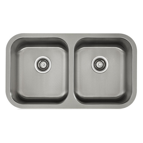 Undermount  Sink Stainless Steel Double Bowl