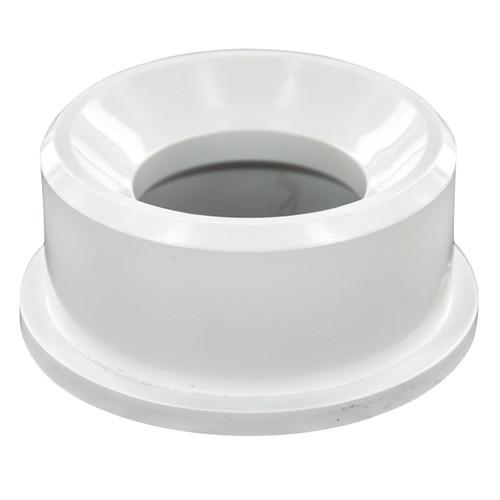"""4""""x3"""" PVC DWV Flush Bushing (Spigot x Hub)"""