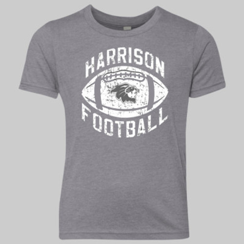 Harrison Football 2019 YOUTH Vintage Gray