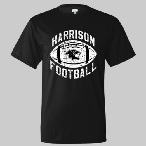 Harrison Drifit Performance YOUTH Tee Black
