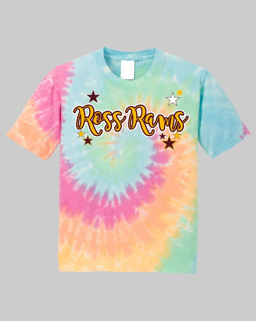 Ross Youth Rainbow Tie Dye Tee