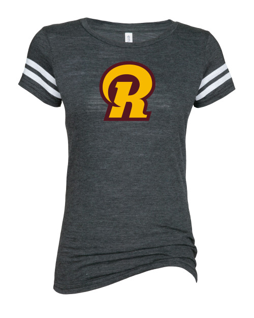 Ross Ladies Vintage Football Tee
