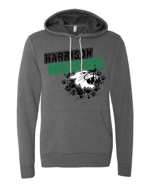 Harrison Vintage Gray Unisex Hoodie