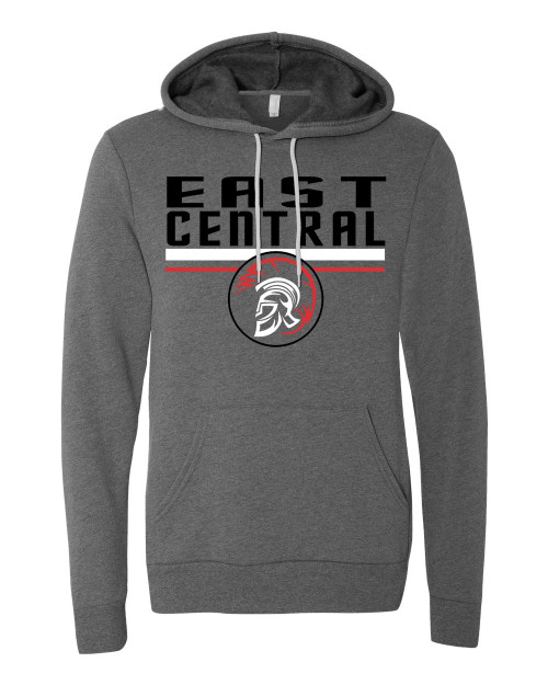 East Central Vintage Gray Unisex Hoodie