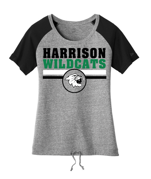 Harrison Ladies Triblend Cinch Bottom Tee