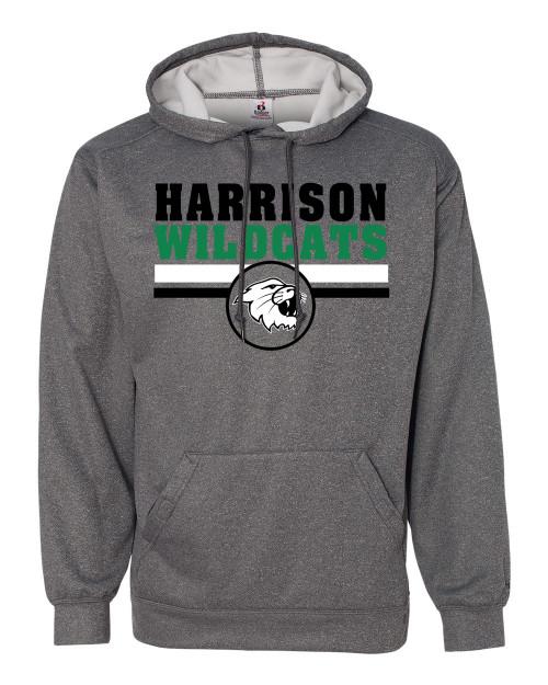 Harrison Adult Drifit Hoodie