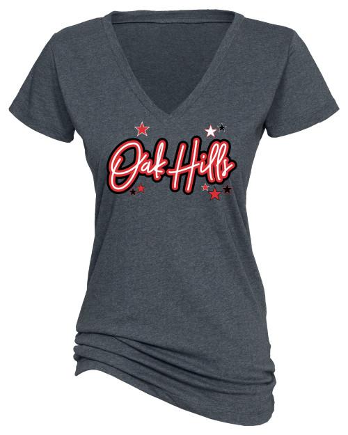 Oak Hills Ladies V Neck