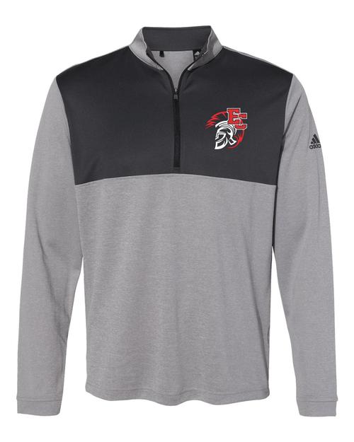 East Central Adidas Lightweight Quarter-Zip Pullover