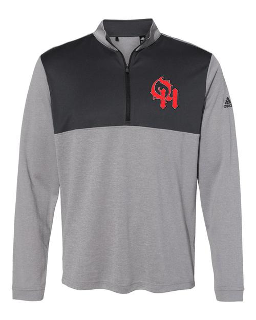 Oak Hills Adidas Lightweight Quarter-Zip Pullover