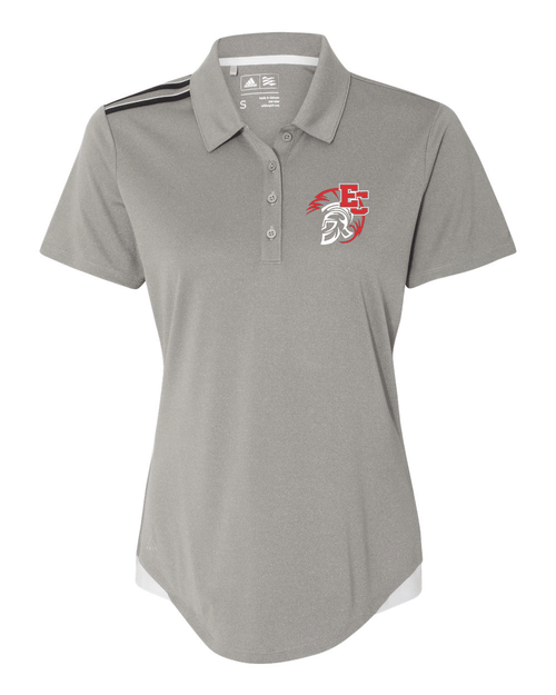 East Central Adidas Ladies Climacool 3-Stripes Shoulder Polo