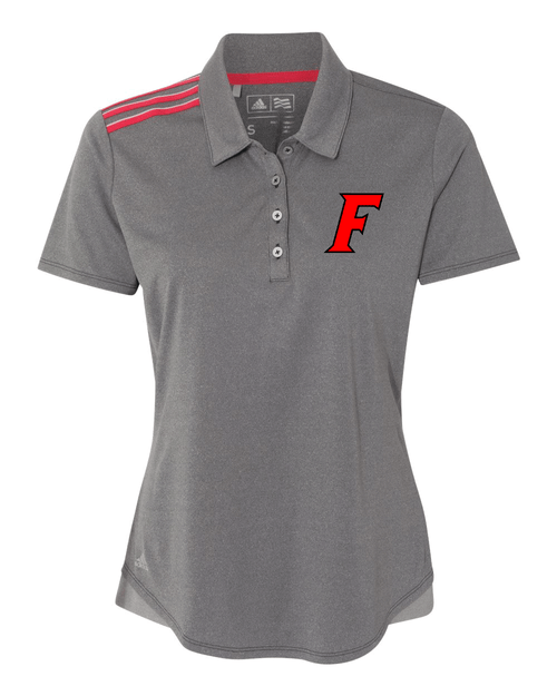 Fairfield Adidas Ladies Climacool 3-Stripes Shoulder Polo