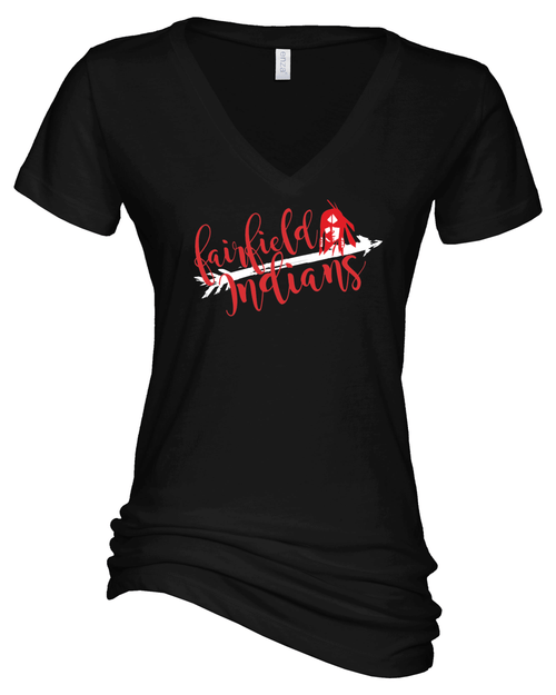 Fairfield Ladies V Neck
