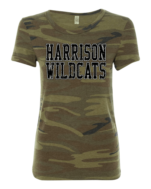 Harrison Camo Ladies Eco Tee
